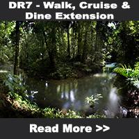 Walk, Cruise & Dine Extension